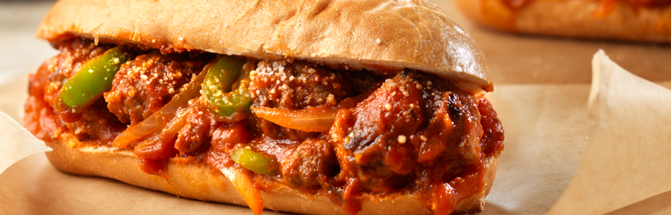 Spicy Sausage and Peppers Sandwiches