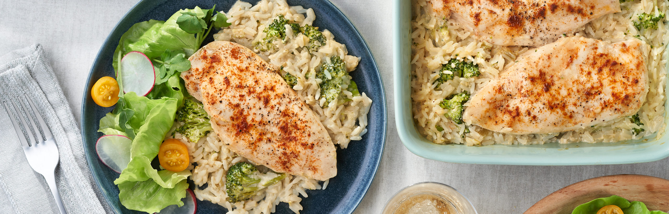 Baked Chicken Broccoli Rice Campbell Soup Company