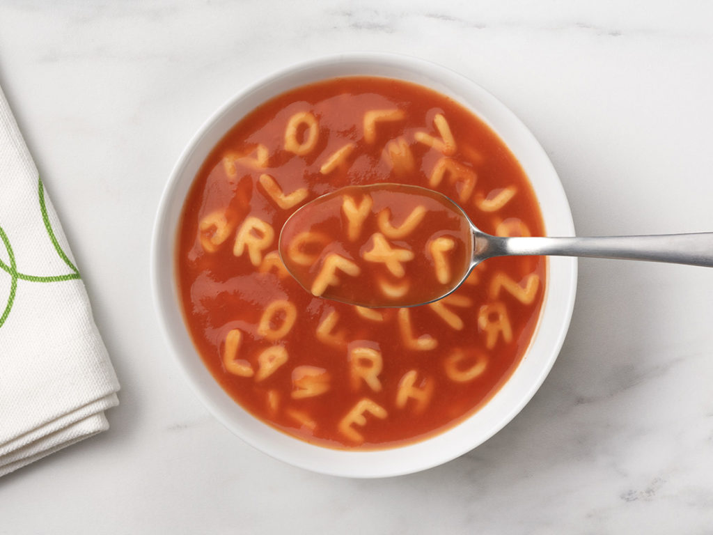 Tomato A to Z's - Soup in Bowl